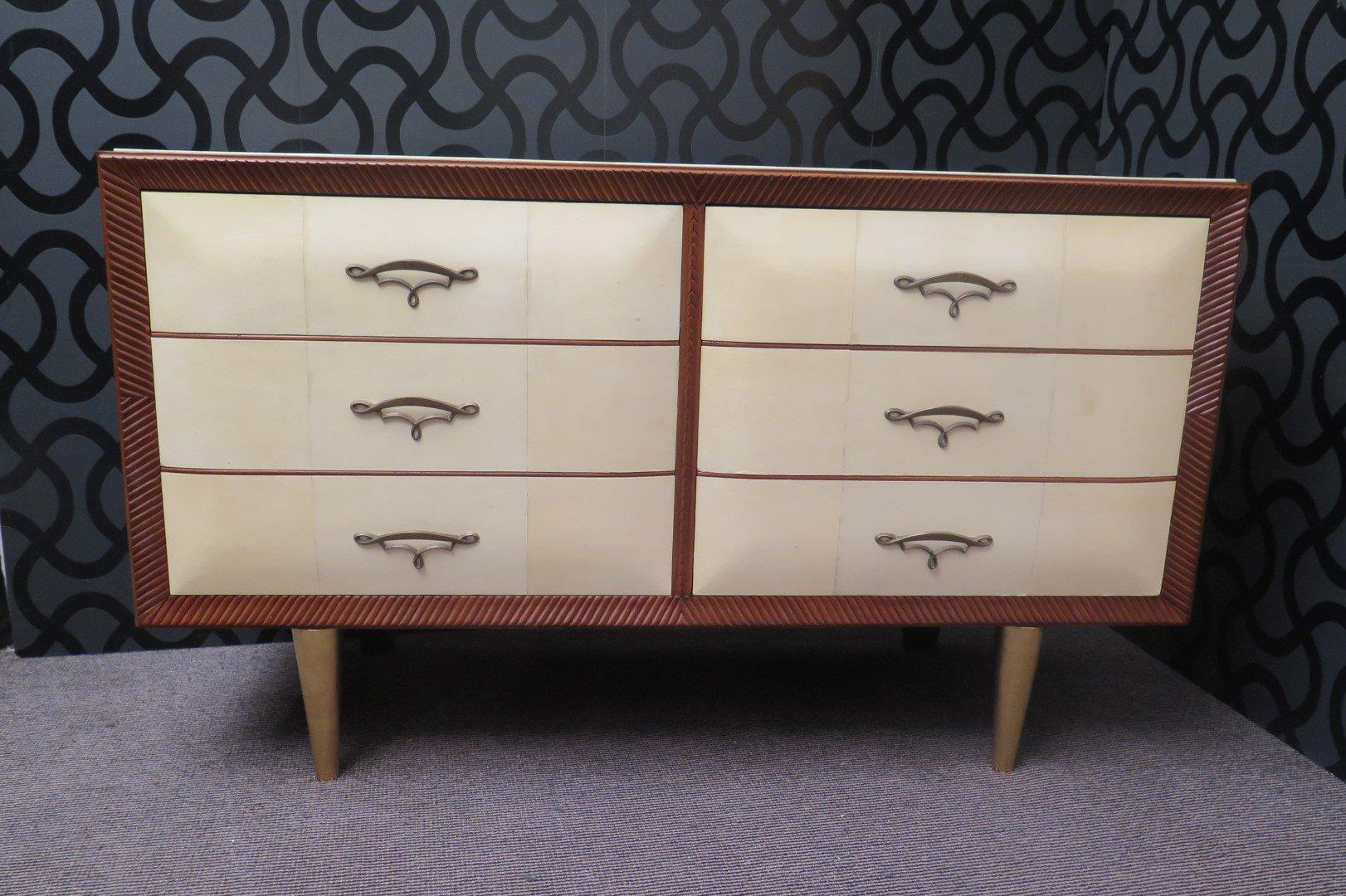 art deco kommode 1940er bei pamono kaufen. Black Bedroom Furniture Sets. Home Design Ideas