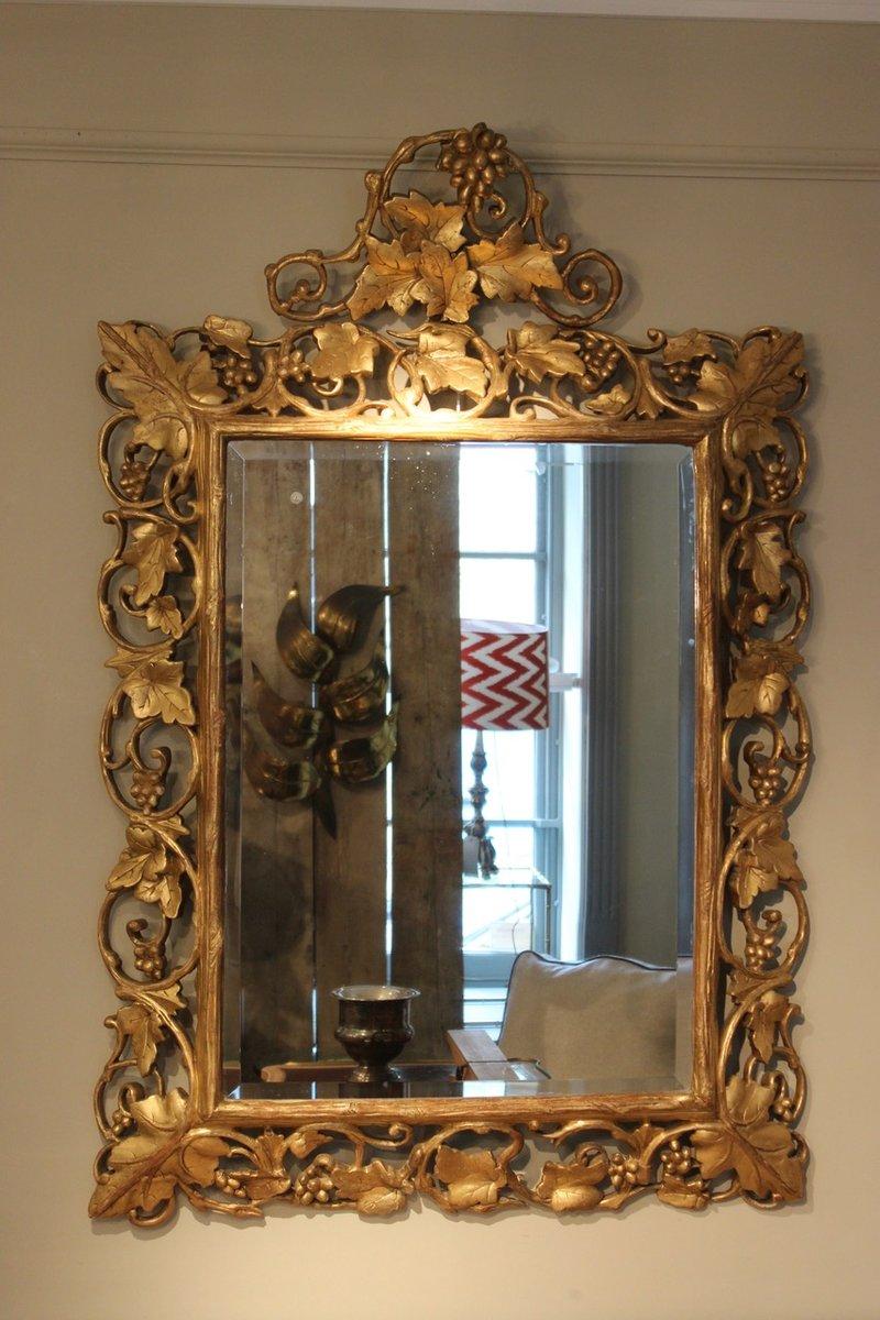 Specchio anticato perfect specchio in piatto duottone da for Specchio rotondo antico