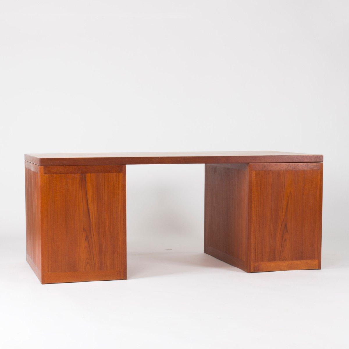 Teak schreibtisch von b rge mogensen f r p lauritsen for Schreibtisch 3 meter lang