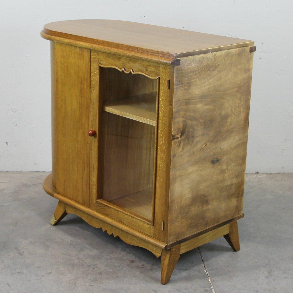 French Art Deco Oak Buffet for sale at Pamono