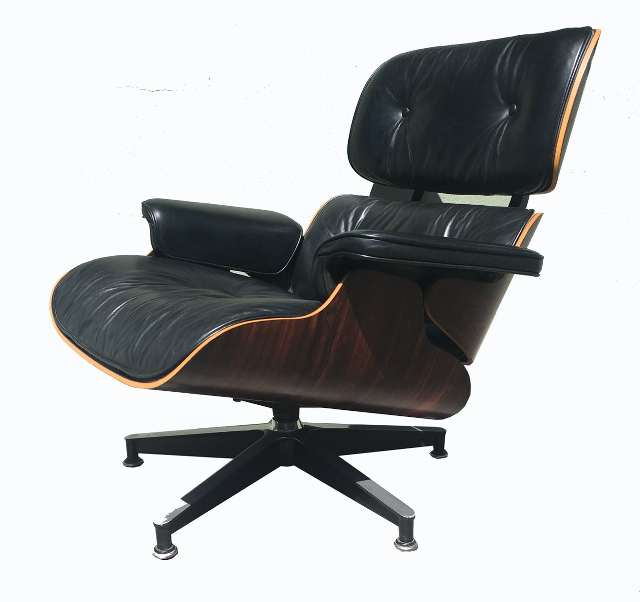 670 671 lounge chair ottoman by charles and ray eames for Charles eames lounge chair preisvergleich