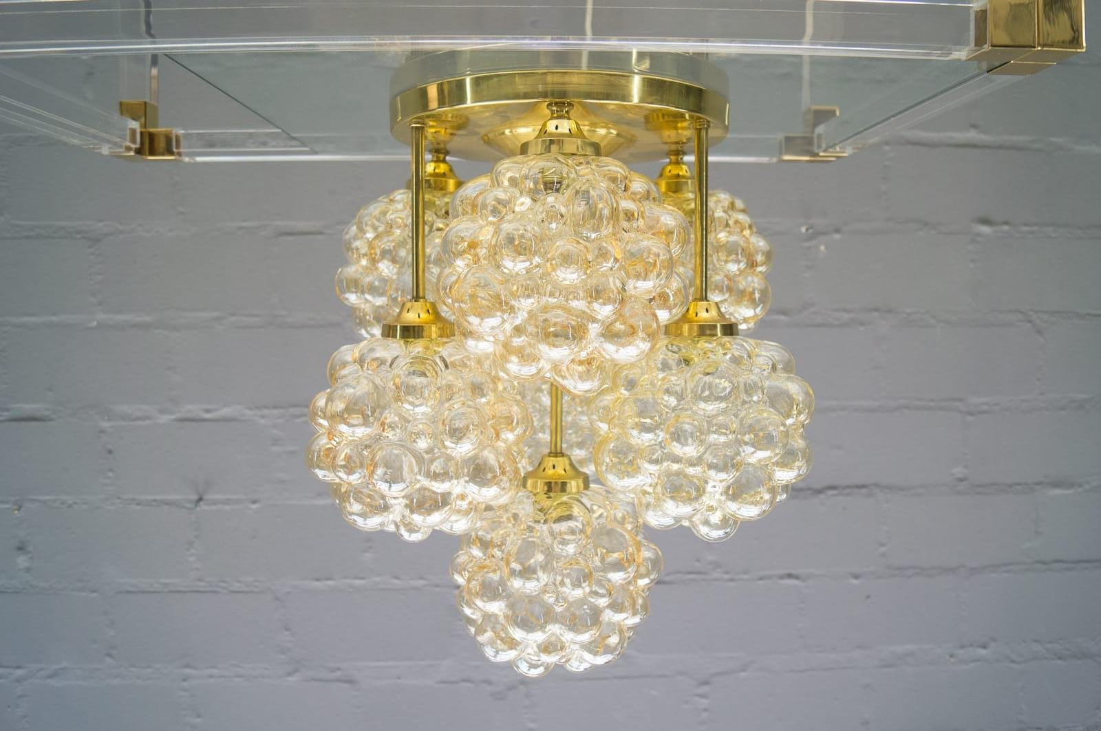 Gold bubble glass ceiling light by helena tynell for limburg 1960s gold bubble glass ceiling light by helena tynell for limburg 1960s aloadofball Images