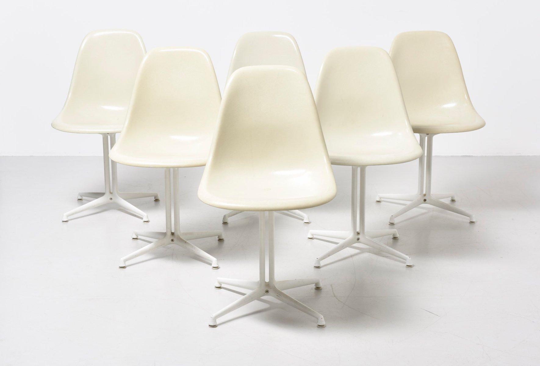 Sedie Ufficio Eames : Sedie dsw vintage con base la fonda di charles ray eames per