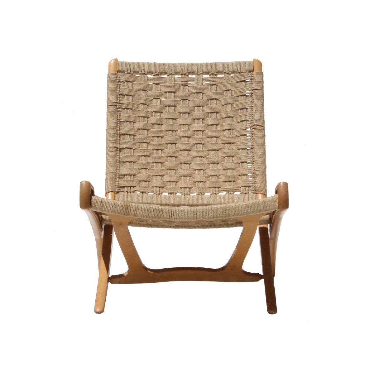 fiber furniture. danish mid-century oak \u0026 natural fiber folding chairs, set of 2 furniture a