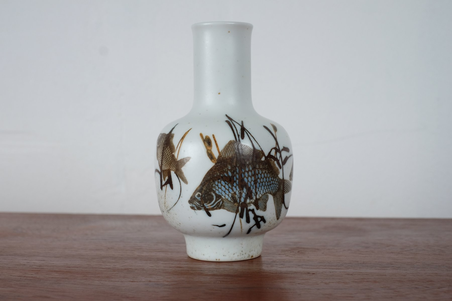 Fish vase by nils thorsson for royal copenhagen 1965 for sale at price per piece reviewsmspy