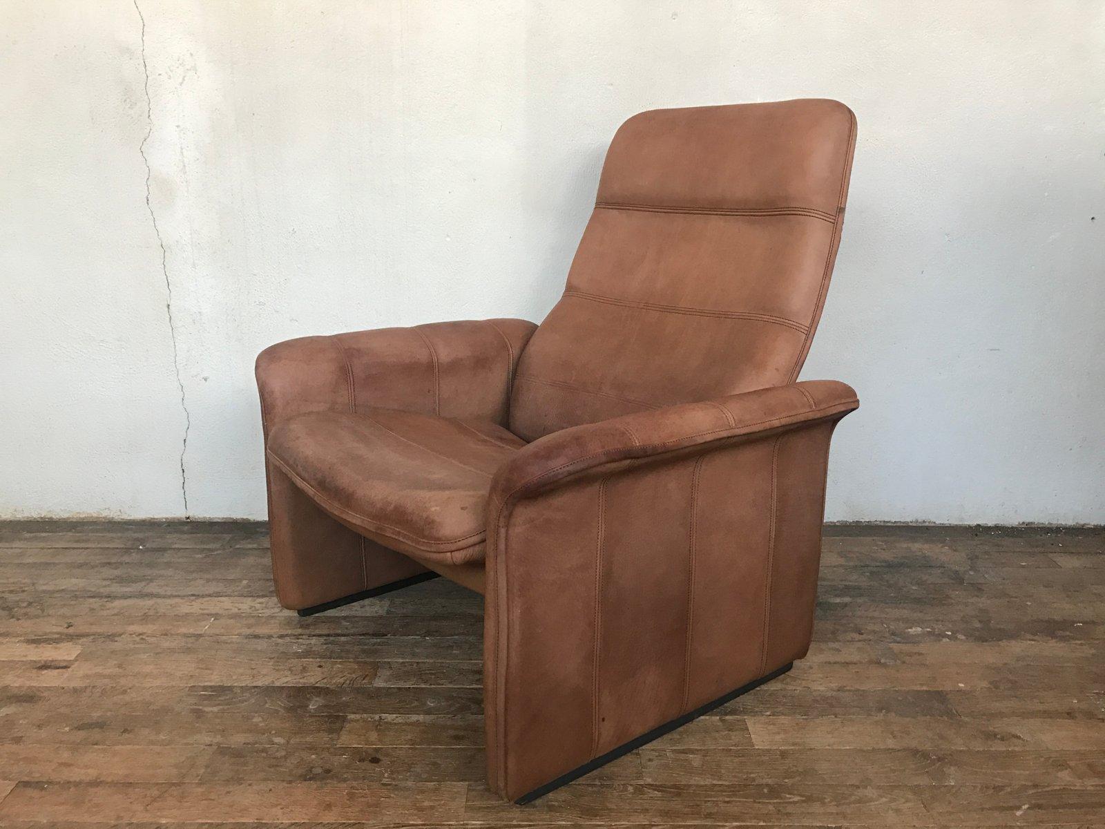 ds 50 b ffelleder sessel von de sede 1960er bei pamono kaufen. Black Bedroom Furniture Sets. Home Design Ideas