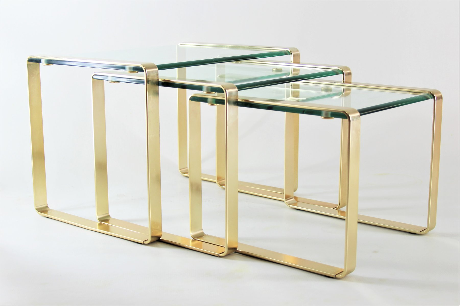 Nesting Tables From Fontana Arte 1960s For At Pamono