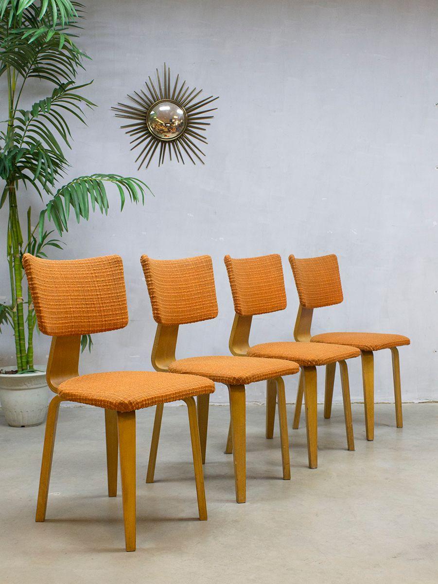 vintage esszimmerst hle von cor alons f r den boer 4er. Black Bedroom Furniture Sets. Home Design Ideas
