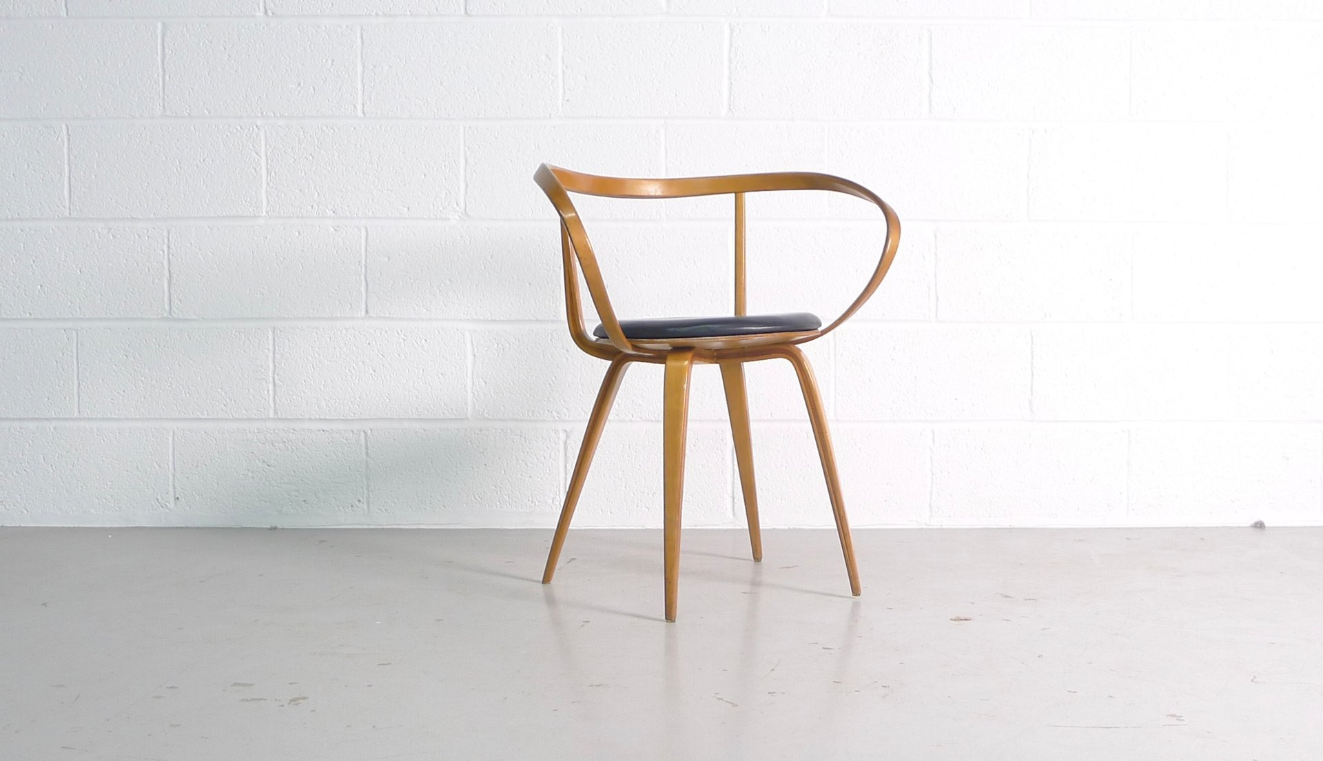 Model 5891 Pretzel Chair By George Nelson For Herman Miller, 1950s For Sale  At Pamono