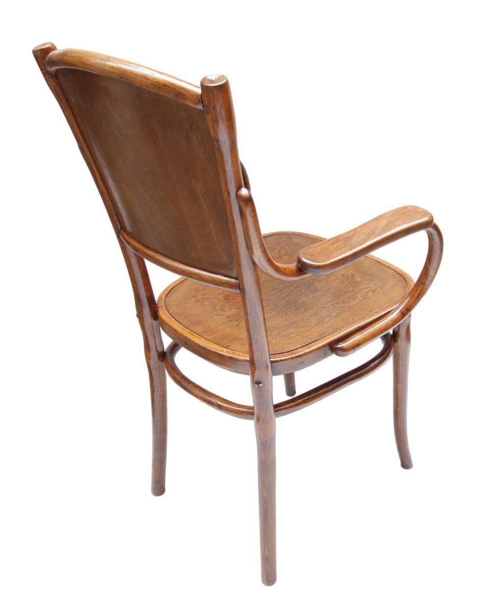 jugendstil bugholz armlehnstuhl bei pamono kaufen. Black Bedroom Furniture Sets. Home Design Ideas