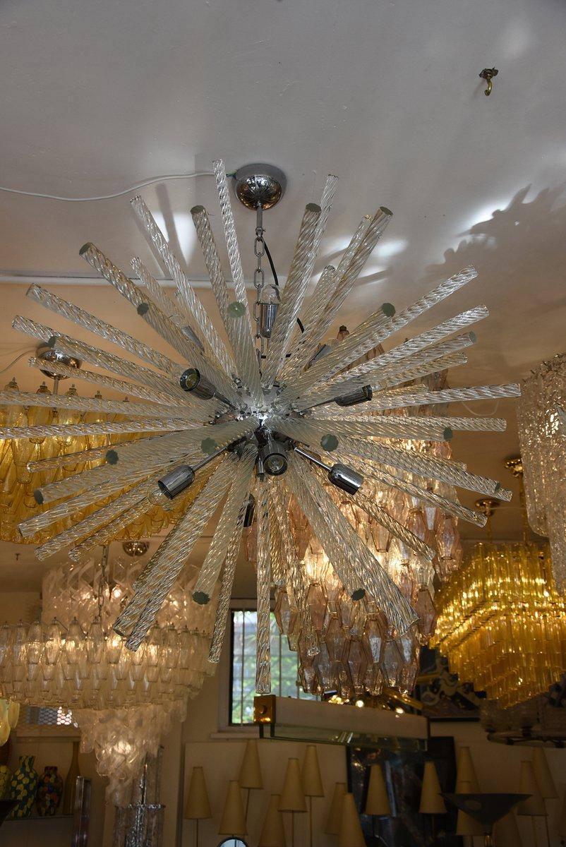 Italienische moderne murano sputnik deckenlampe bei pamono for Moderne deckenlampe