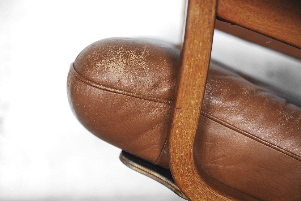 schwedischer drehsessel von gate m bel 1960er bei pamono kaufen. Black Bedroom Furniture Sets. Home Design Ideas