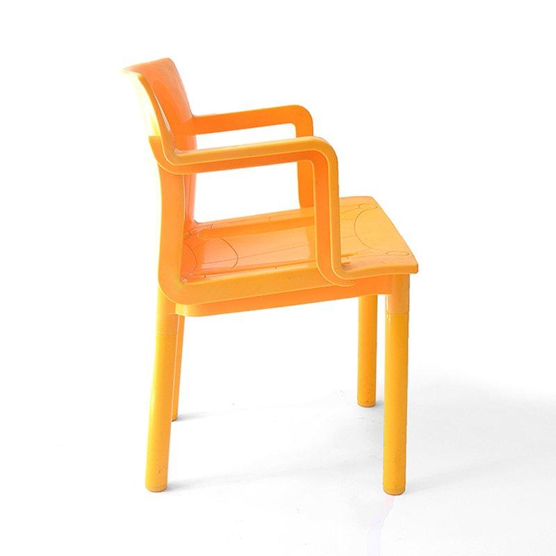 Vintage plastik stuhl bei pamono kaufen for Design stuhl plastik