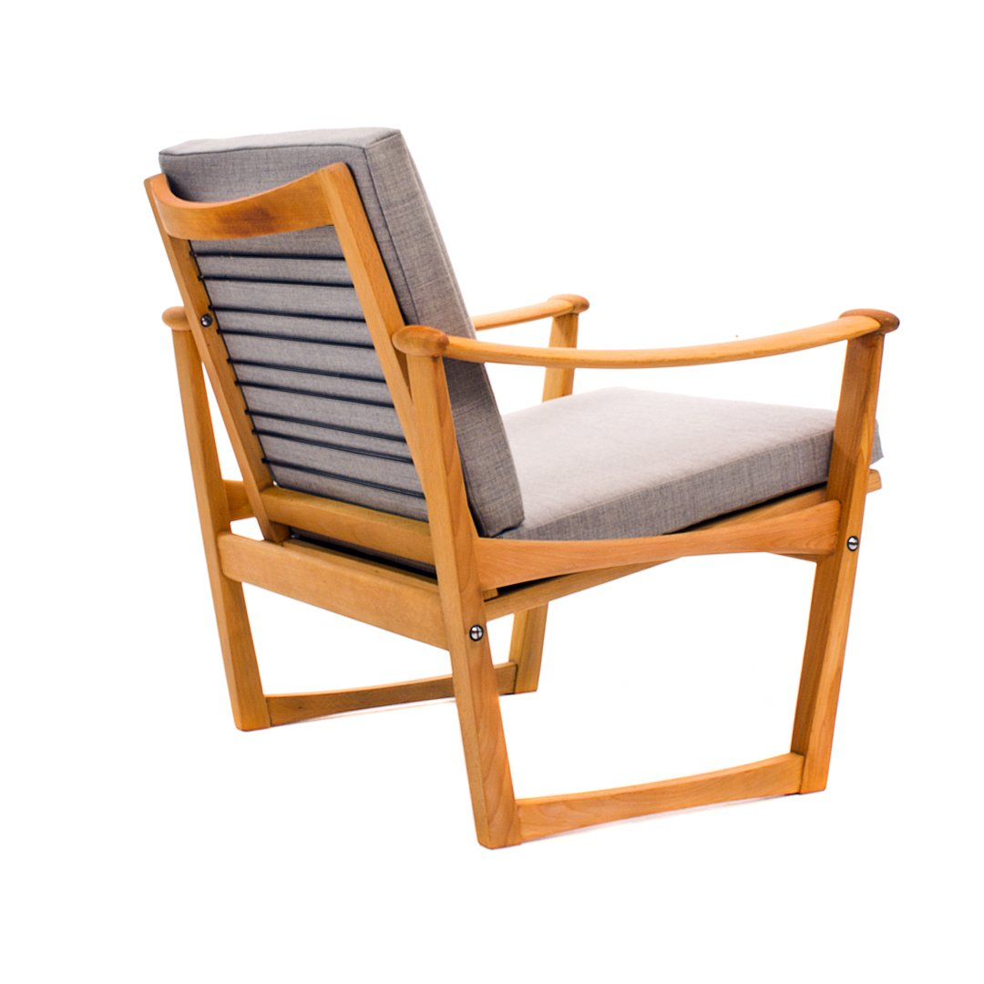 Mid Century Spade Chair By Finn Juhl For Pastoe For Sale