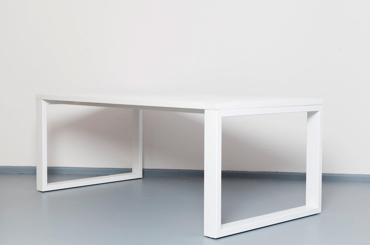 wittem tisch aus recycletem holz stahl von johanenlies bei pamono kaufen. Black Bedroom Furniture Sets. Home Design Ideas