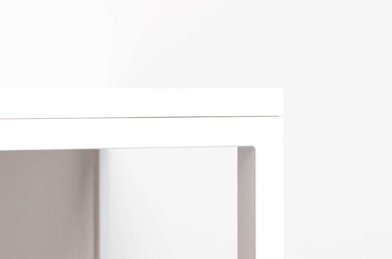 Tavolo wittem in legno riciclato e acciaio di - Tavolo legno e acciaio ...