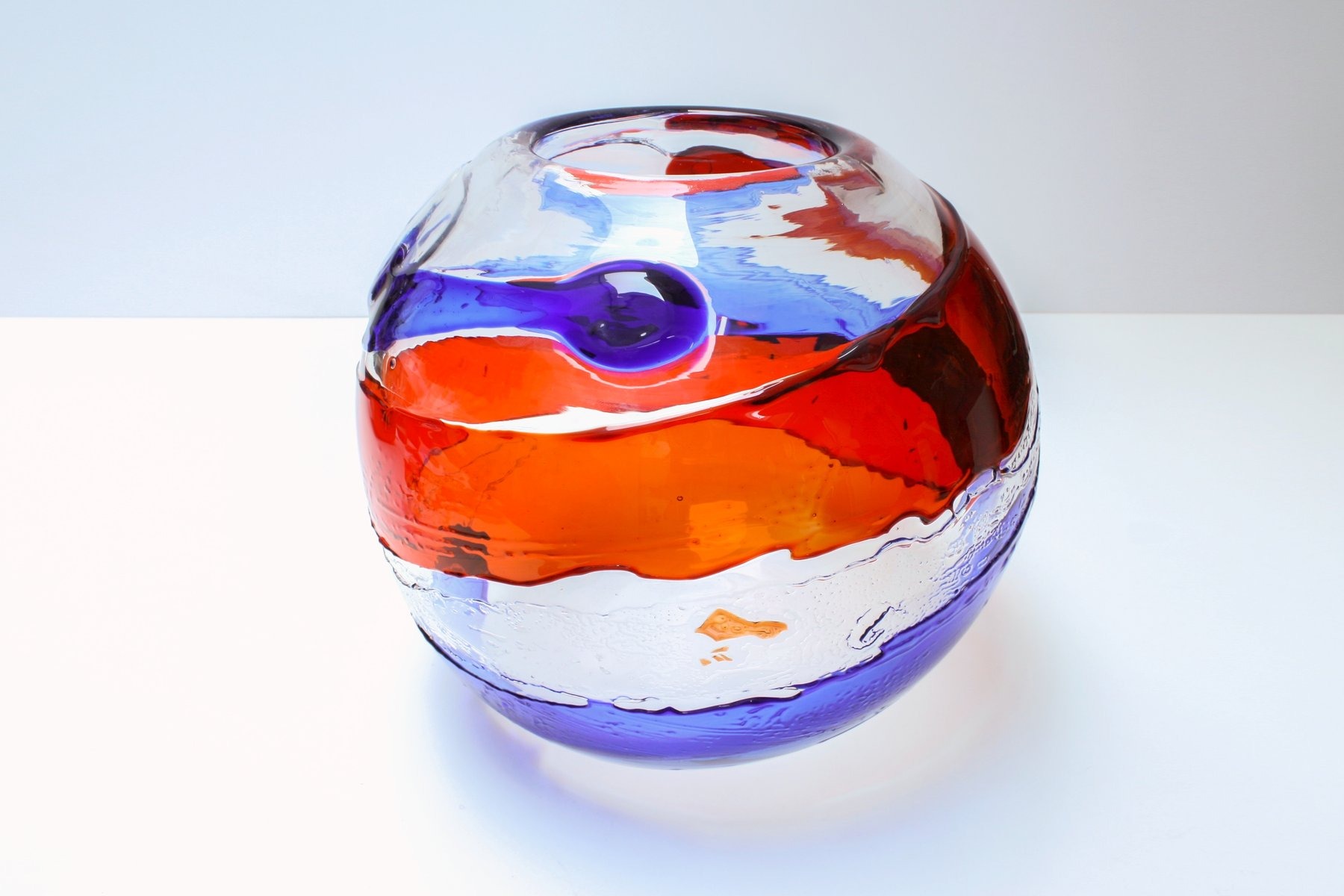 Mid century murano glass vase from atelier dogi for sale at pamono mid century murano glass vase from atelier dogi reviewsmspy