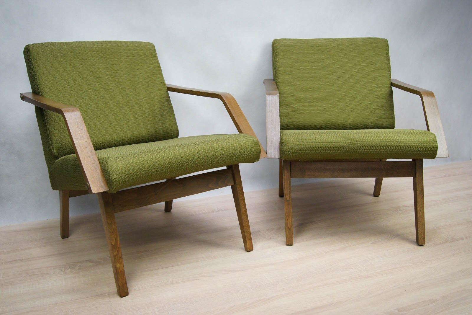 moderne sessel 1970er 2er set bei pamono kaufen. Black Bedroom Furniture Sets. Home Design Ideas