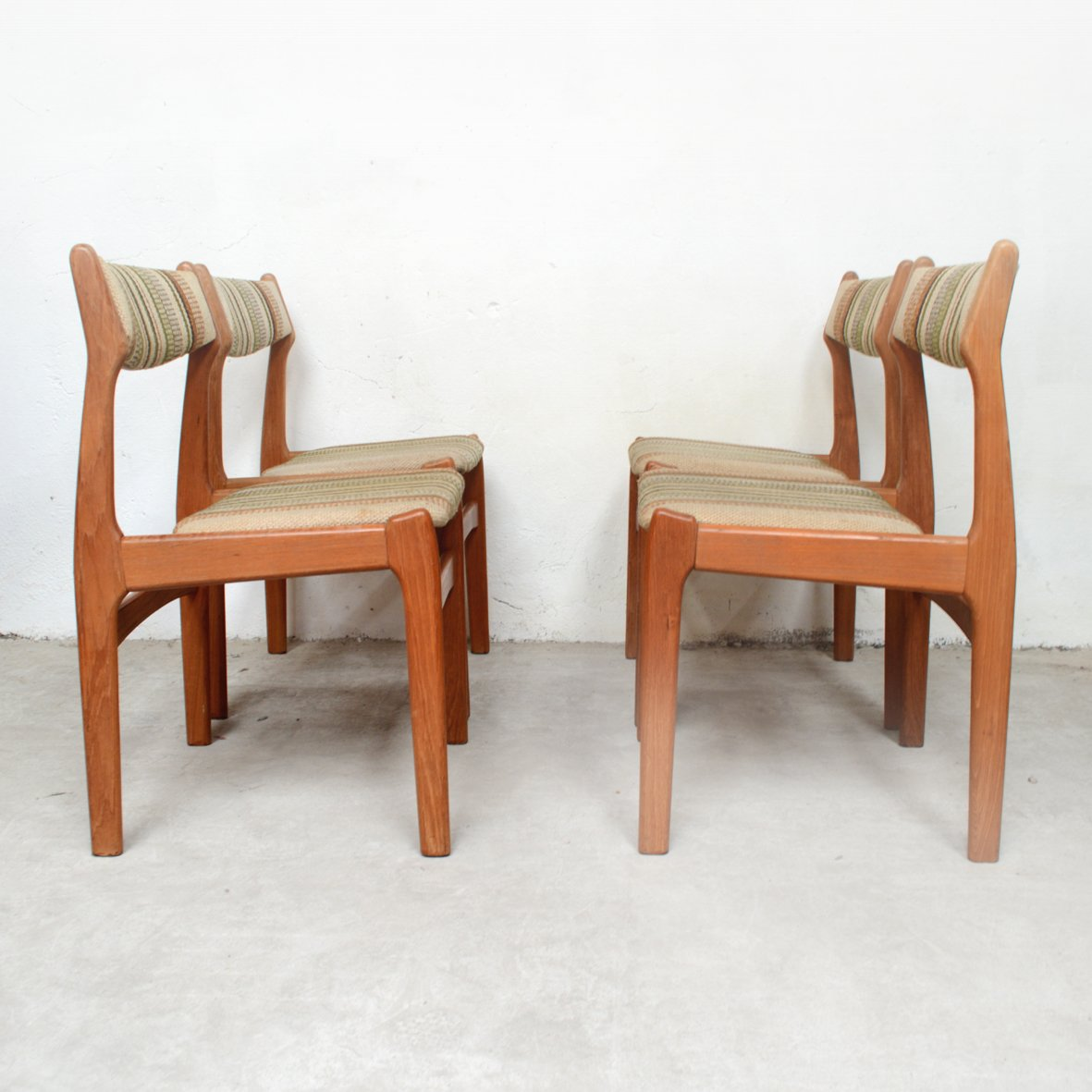 Scandinavian German Dining Chairs 1960s Set Of 4 For Sale At Pamono