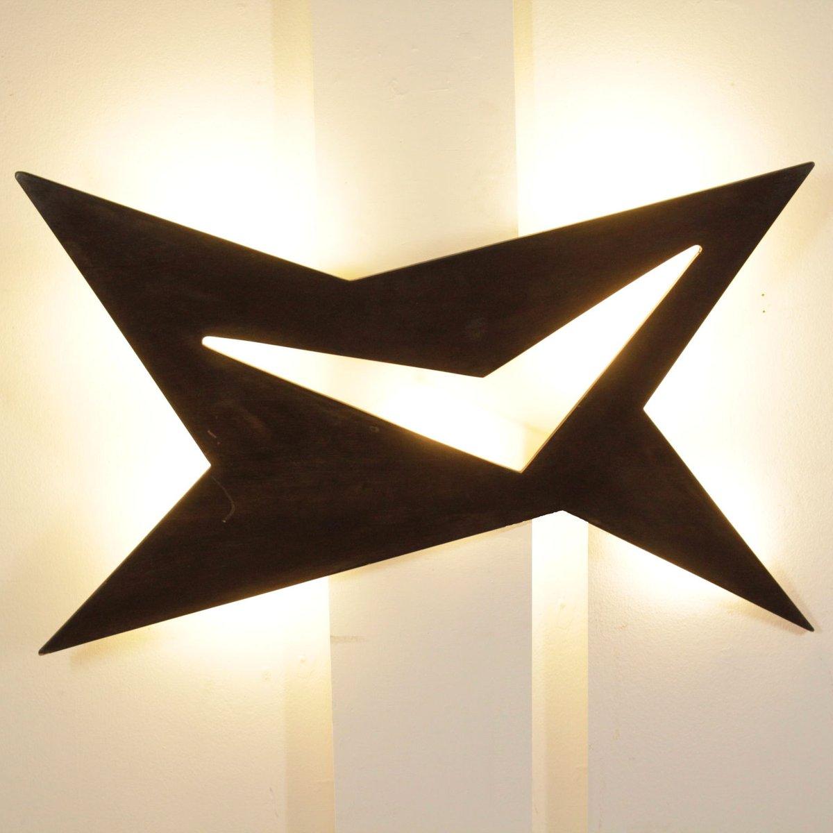 deckenlampe aus gebeiztem holz glas 1960er bei pamono kaufen. Black Bedroom Furniture Sets. Home Design Ideas
