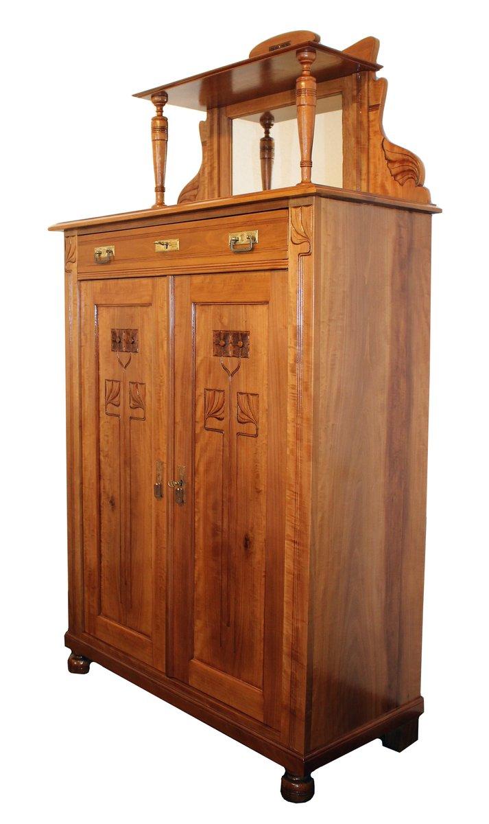 jugendstil highboard bei pamono kaufen. Black Bedroom Furniture Sets. Home Design Ideas