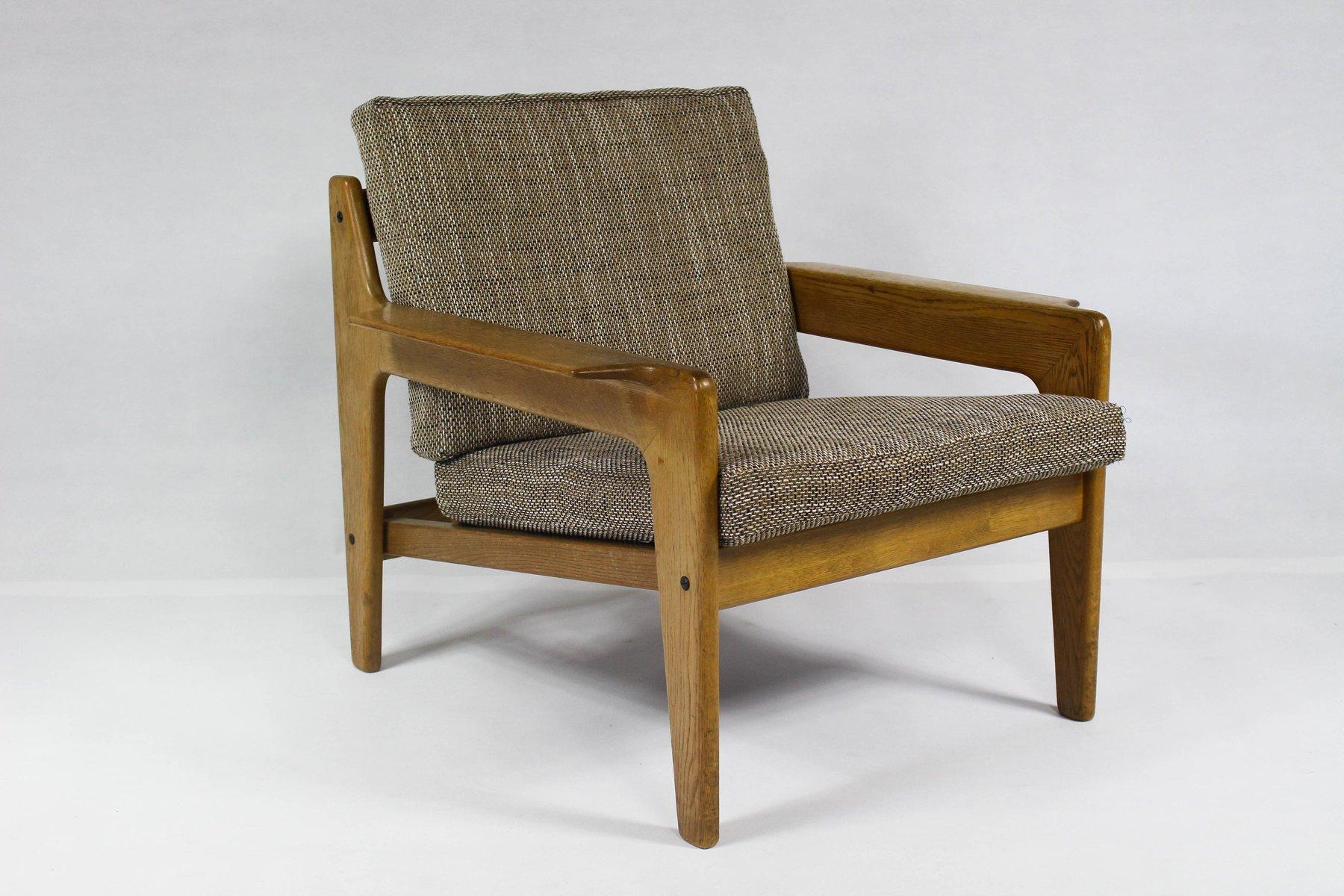 Vintage Danish Lounge Chair By Arne Wahl Iversen For Komfort
