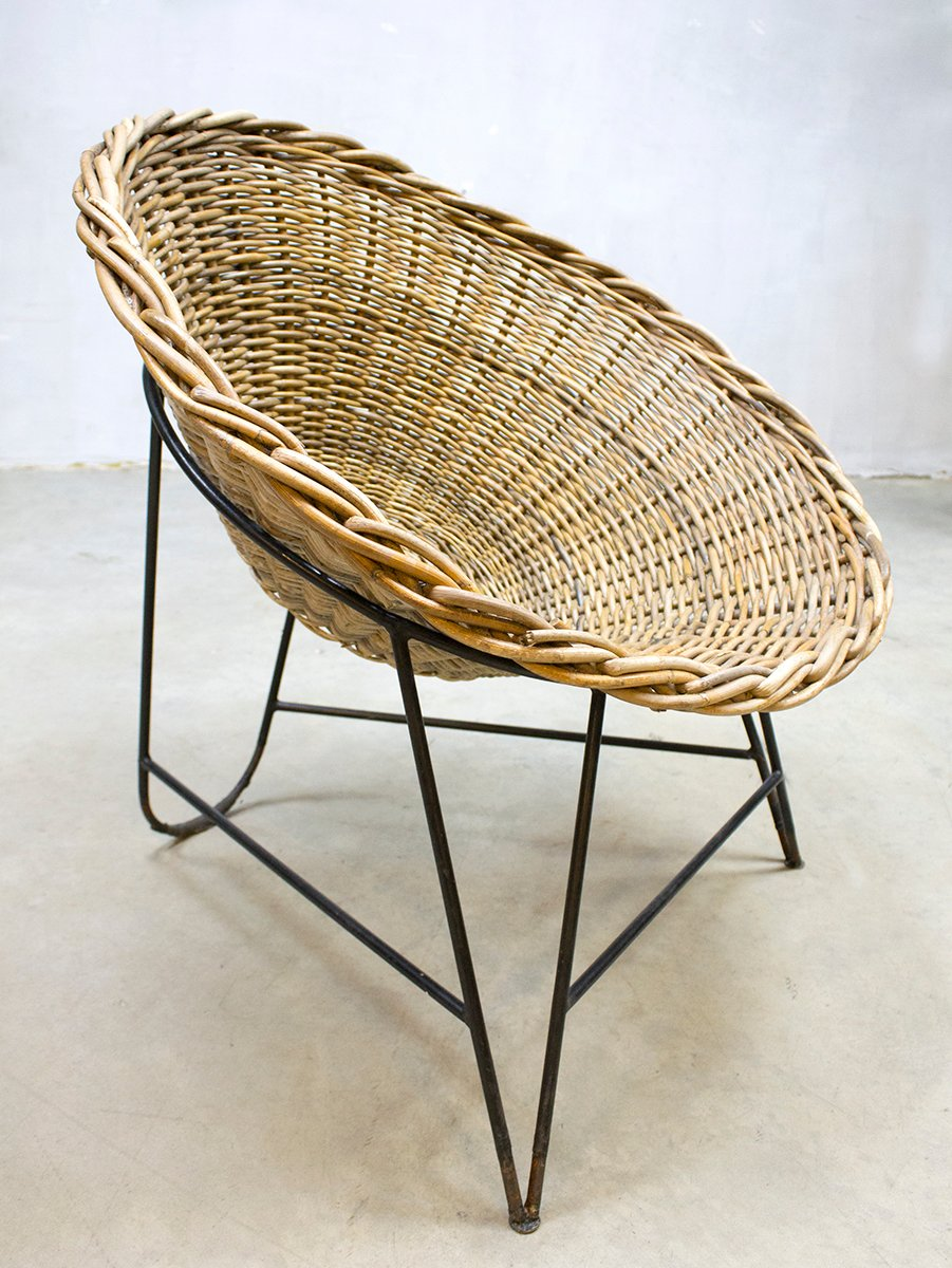 stacking product basket legler chair rattan gian by a franco