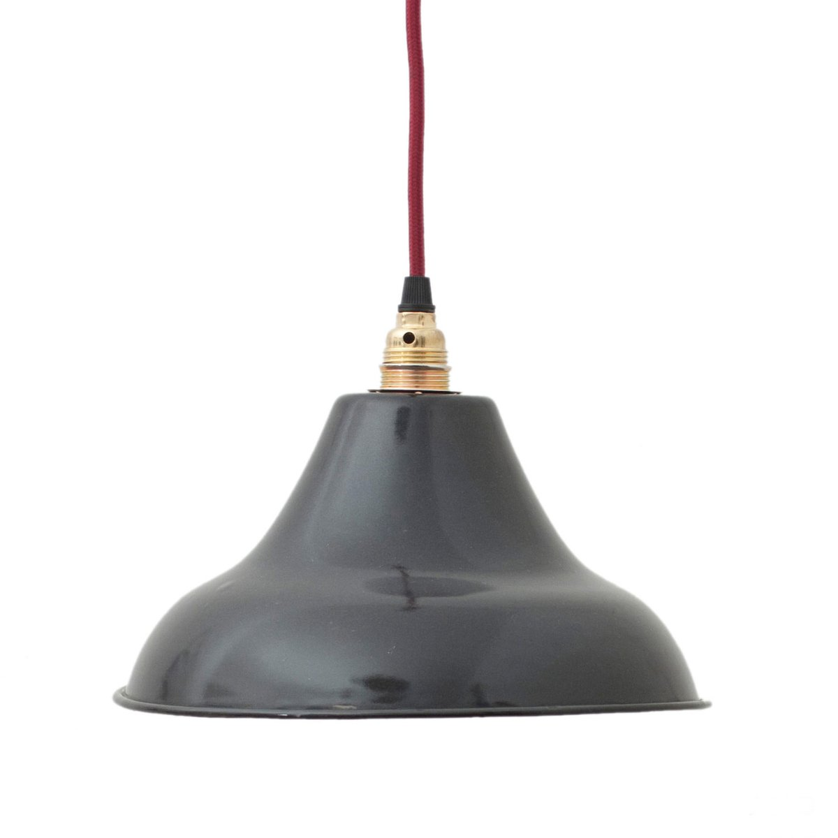 industrial lamp sale black enameled pamono at for french pendant vintage
