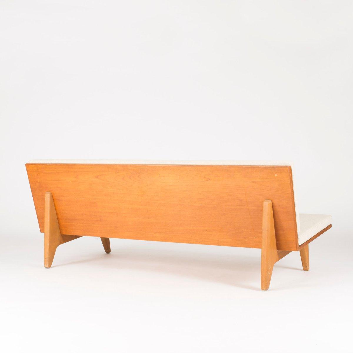 canap en teck par gustaf hiort af orn s pour g sta. Black Bedroom Furniture Sets. Home Design Ideas