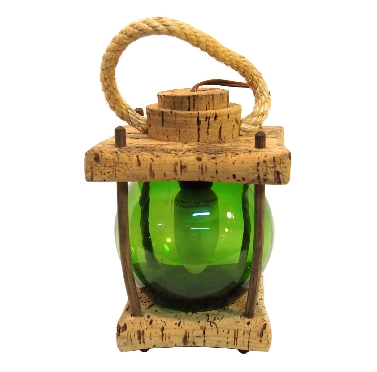 Mediterranean cork green lantern table lamp for sale at pamono mediterranean cork green lantern table lamp mozeypictures Image collections