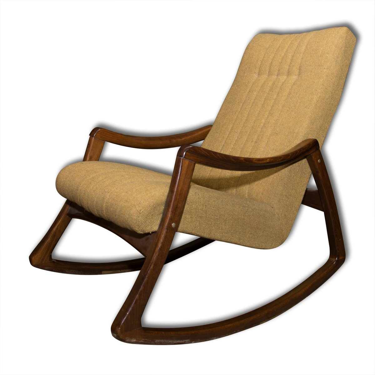Vintage Czech Bentwood Rocking Chair From Ton 1970s For