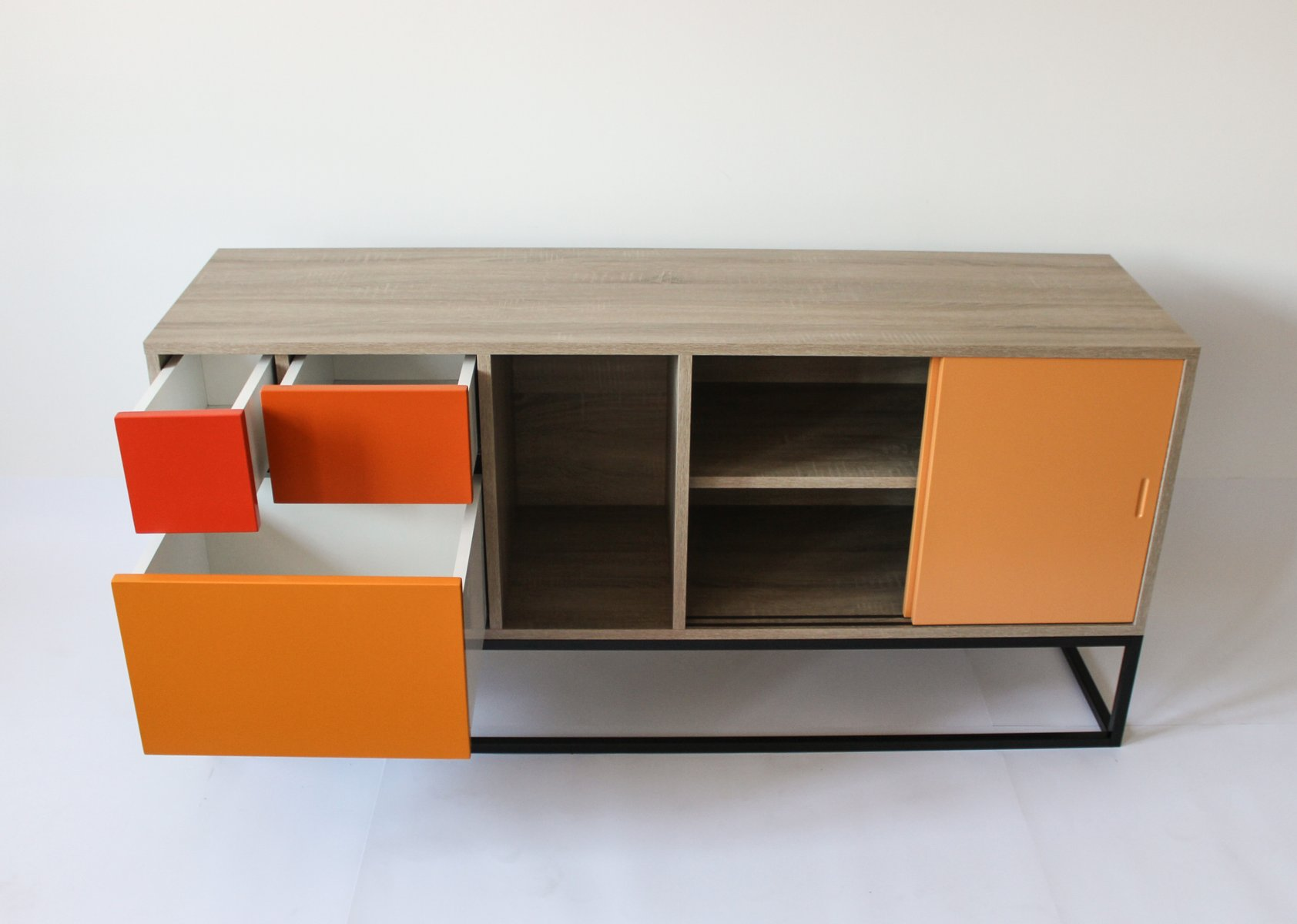 Blue real sideboard by studio deusdara for sale at pamono for Sideboard real