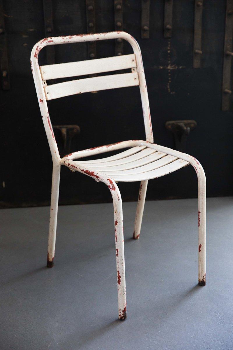 vintage t2 gartenst hle von xavier pauchard f r tolix 4er. Black Bedroom Furniture Sets. Home Design Ideas