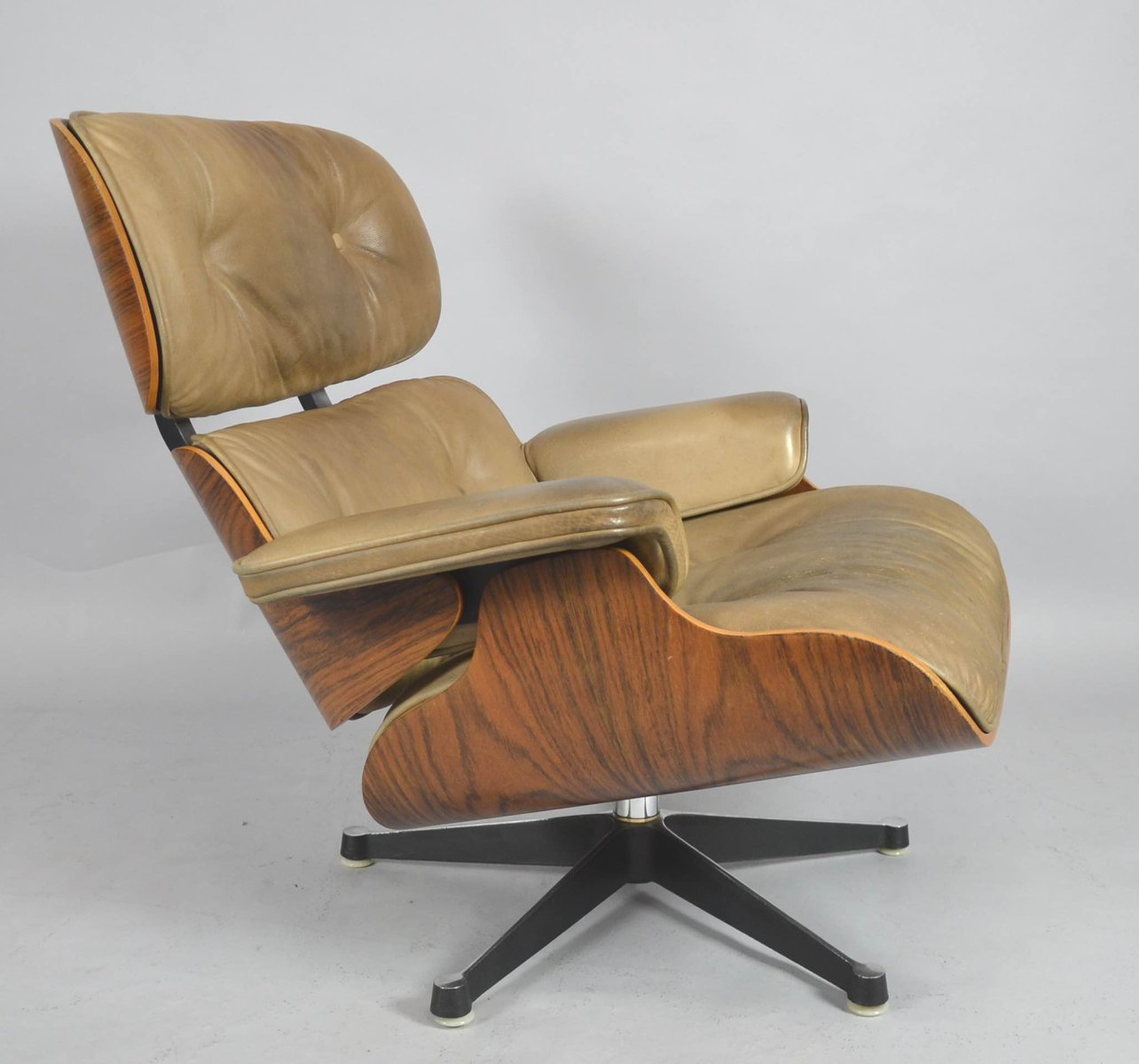 Mid Century Lounge Chair By Charles U0026 Ray Eames For Fehlbaum Contura / Vitra