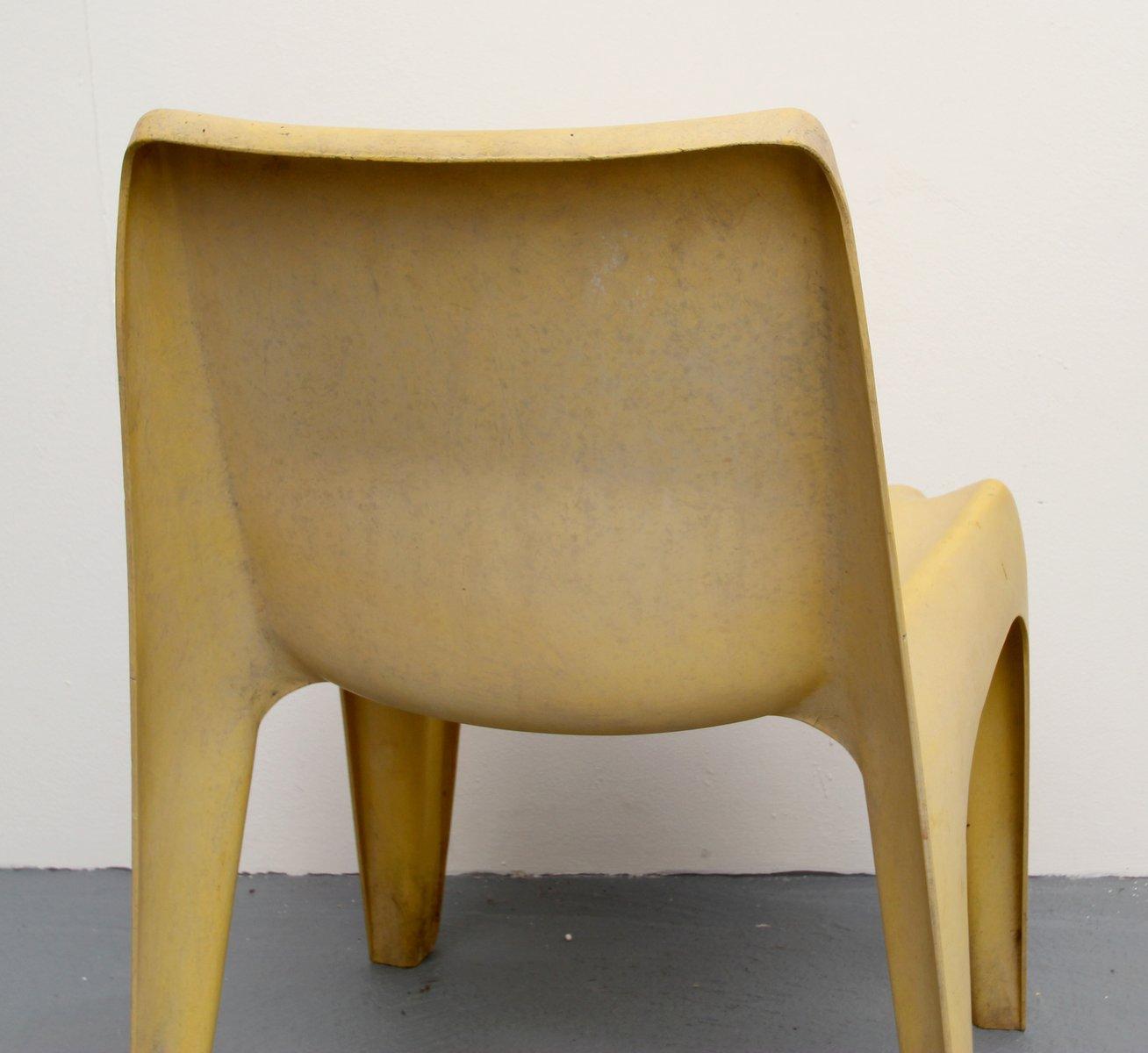 ba 1171 fiberglas stuhl von helmut b tzner f r bofinger 1960er bei pamono kaufen. Black Bedroom Furniture Sets. Home Design Ideas