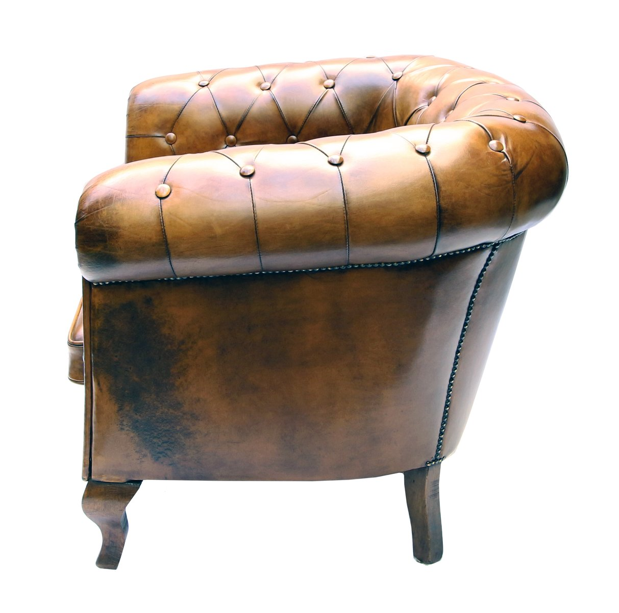sugden club chair french daughters pedlars preview vintage leather shop