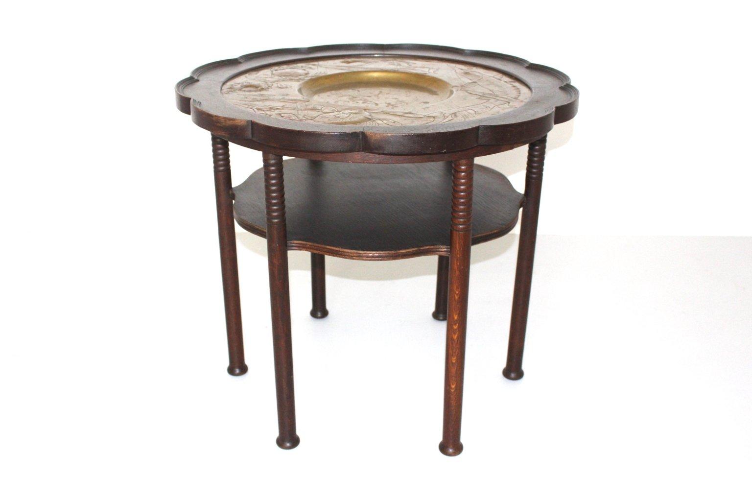 antiker wiener couchtisch bei pamono kaufen. Black Bedroom Furniture Sets. Home Design Ideas