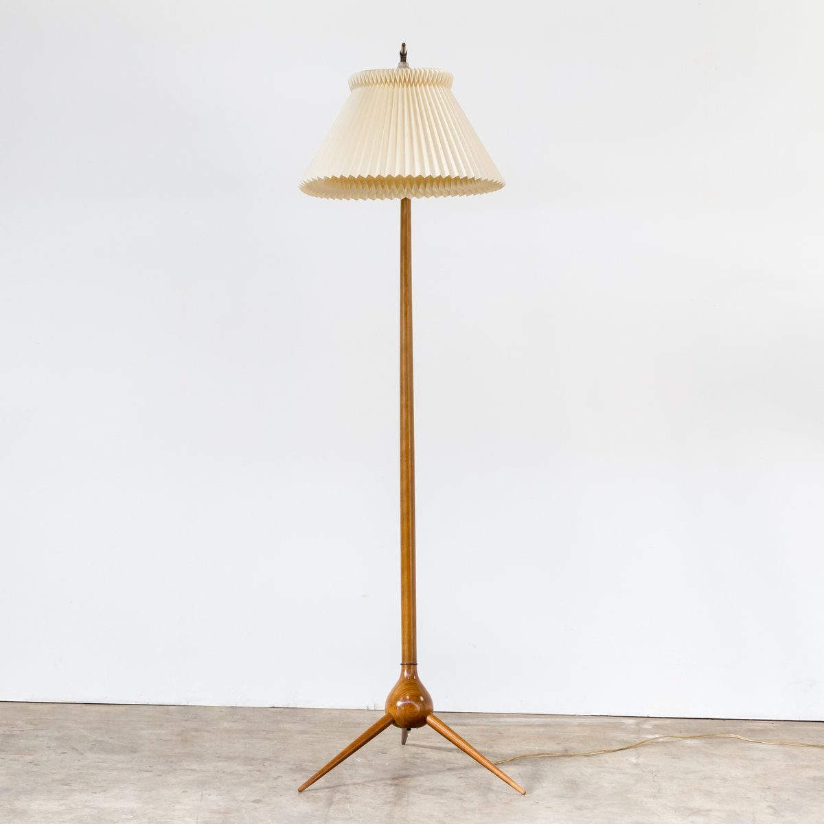 Vintage model bridge floor lamp with three star foot by for 8 ft floor lamp