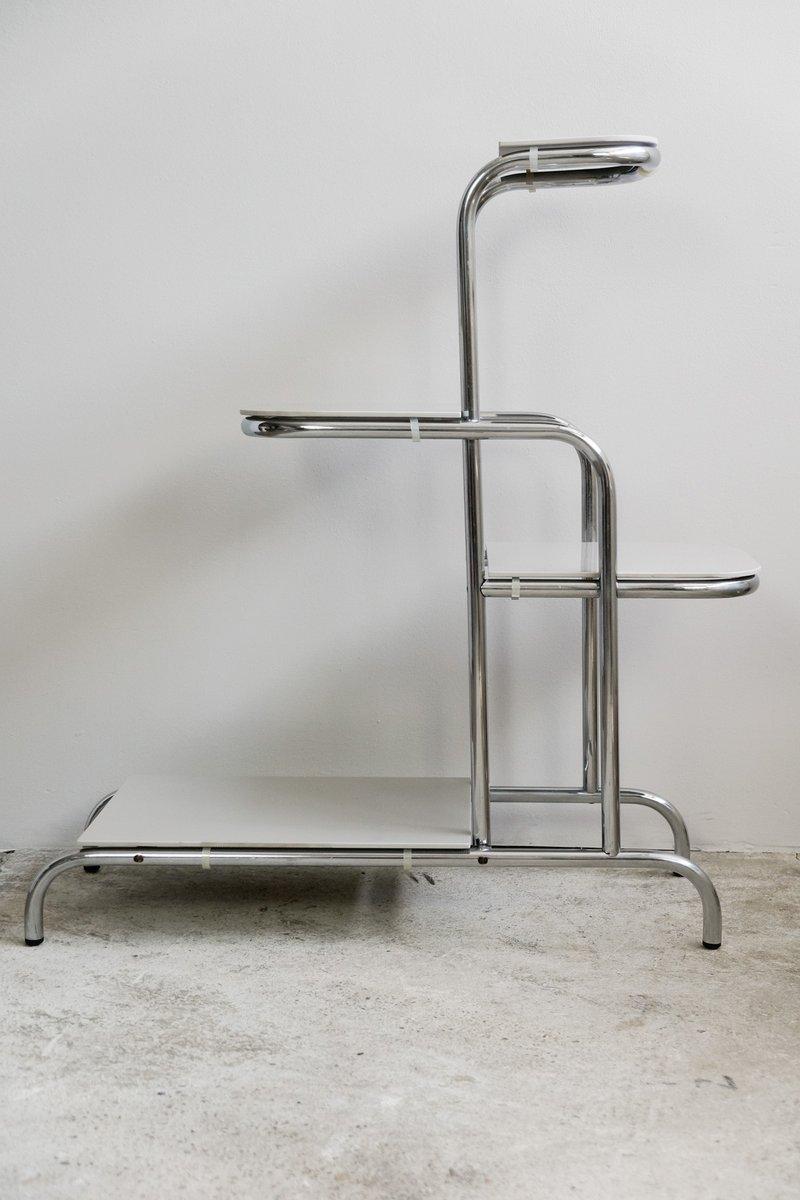 tschechischer stahlrohr etag re 1930er bei pamono kaufen. Black Bedroom Furniture Sets. Home Design Ideas