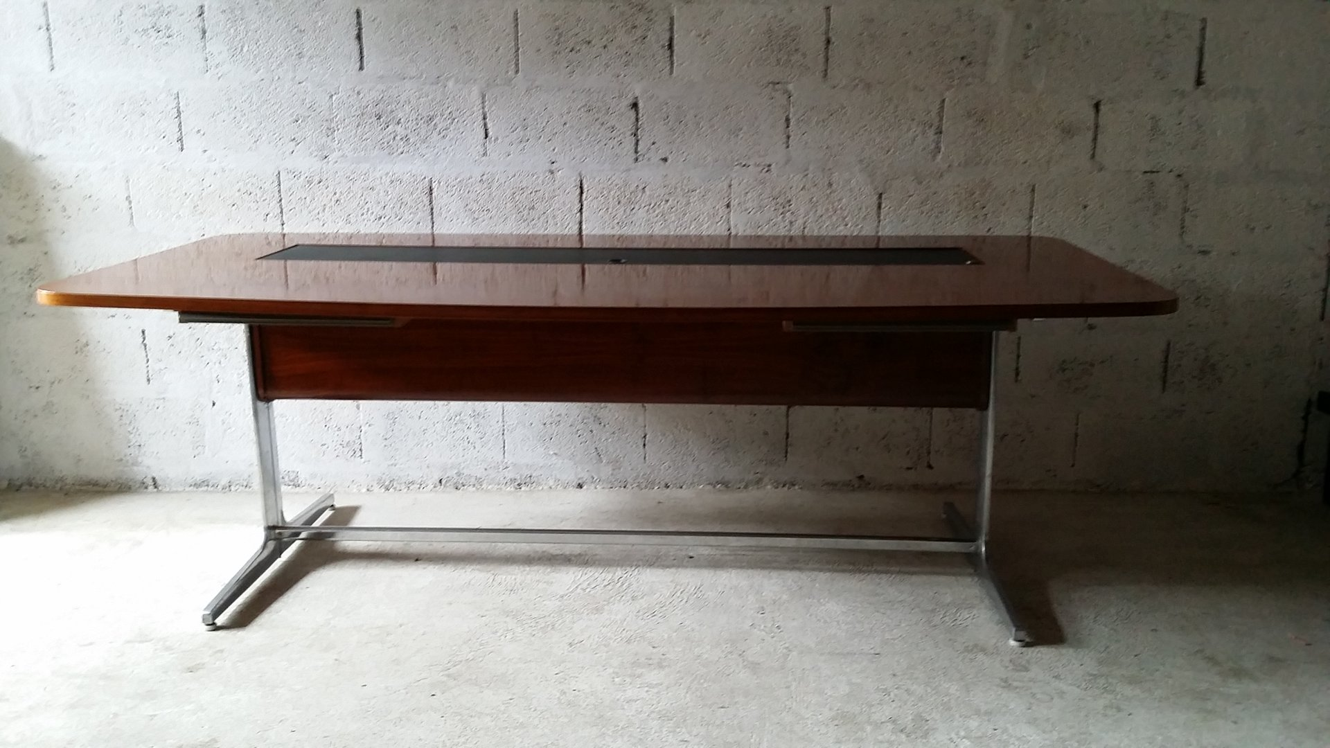 Nice Vintage Desk By George Nelson For Herman Miller For Sale At Pamono