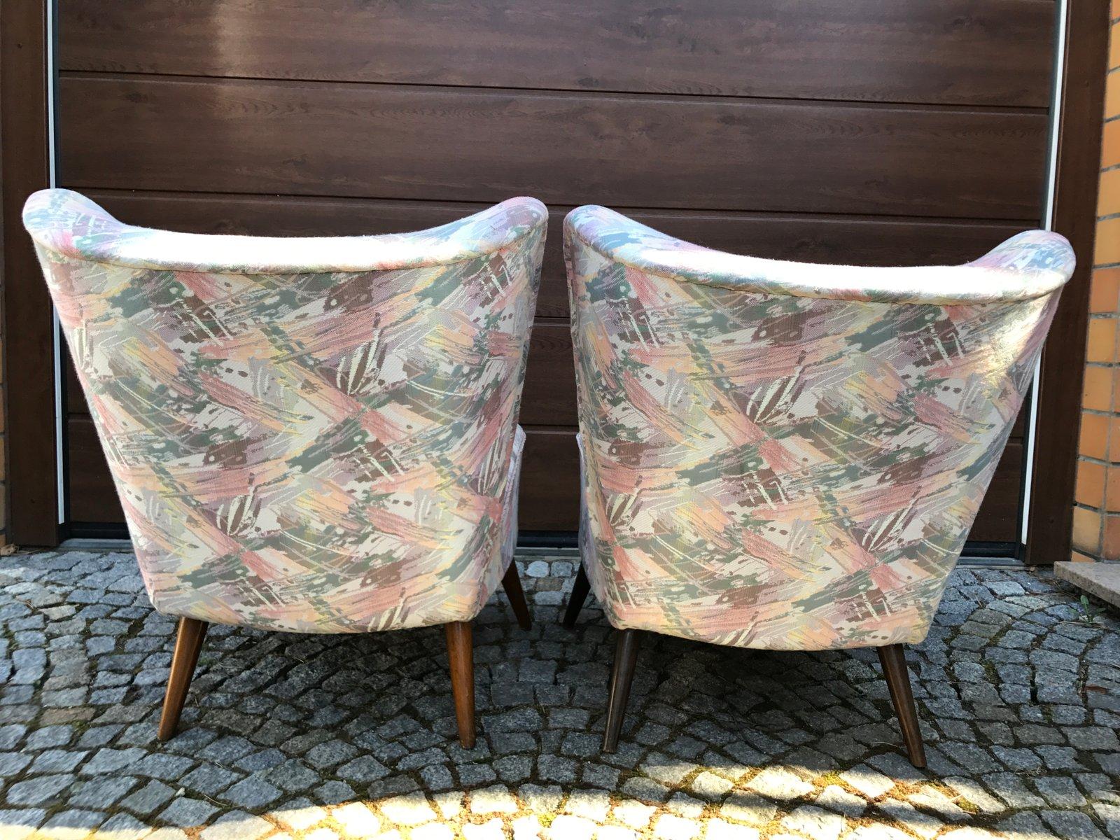 franz sische cocktail sessel 1960er 2er set bei pamono kaufen. Black Bedroom Furniture Sets. Home Design Ideas