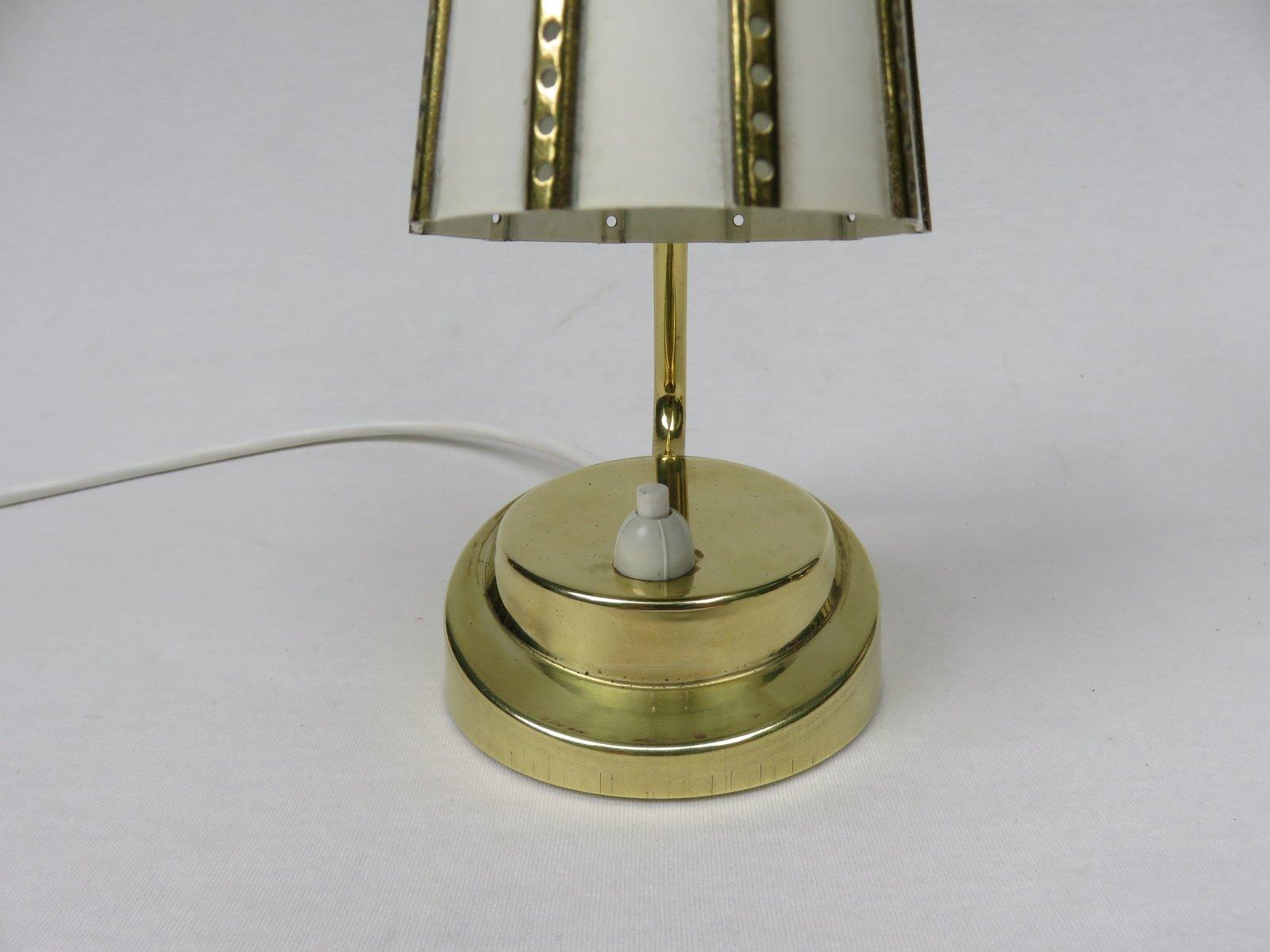 italienische messing nachttischlampen 1950er 2er set - Nachttischlampen