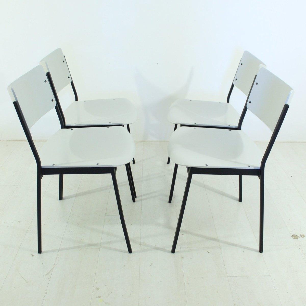 4er Set Stühle : vintage st hle 1960er 4er set bei pamono kaufen ~ Indierocktalk.com Haus und Dekorationen