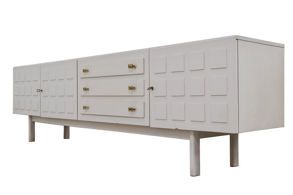 Vintage light grey sideboard from musterring international for Sideboard 250 cm
