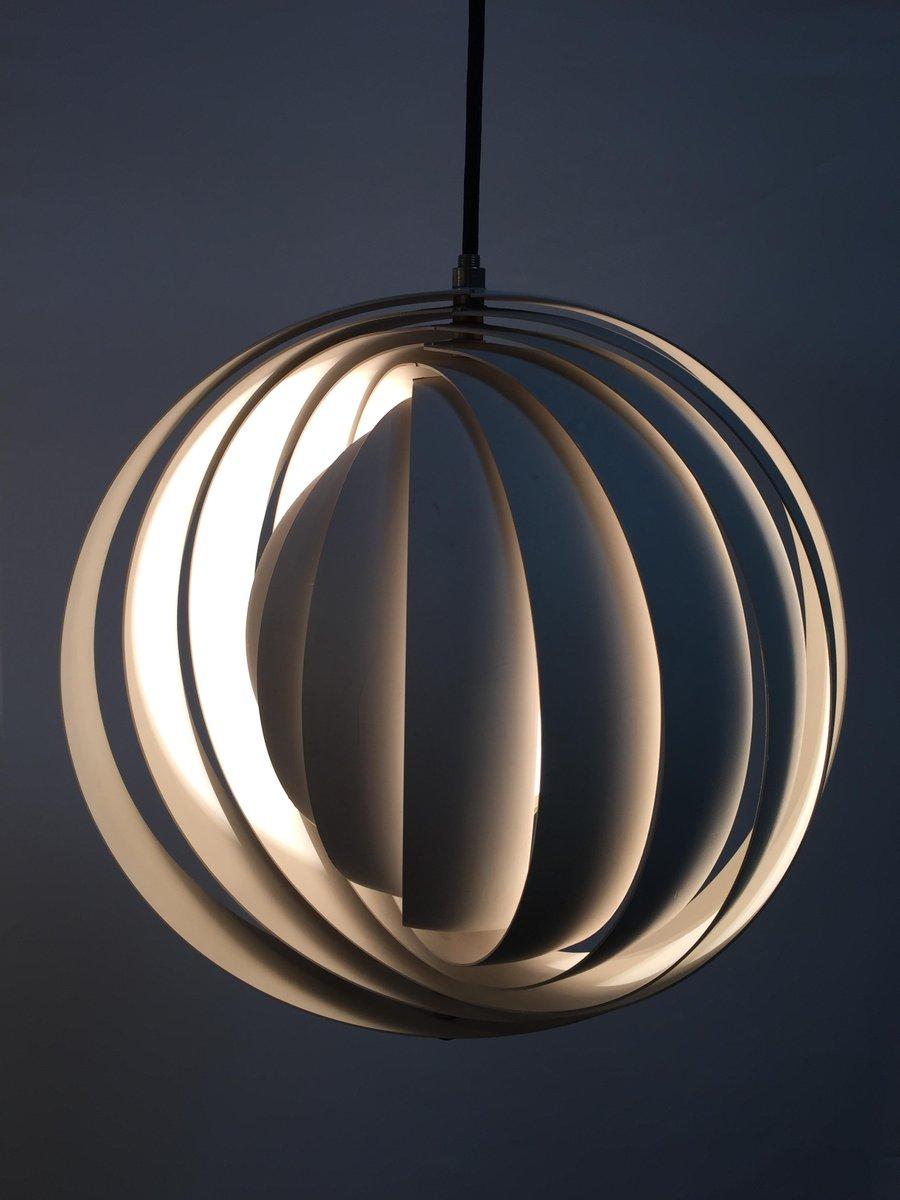 Mid century danish moonlight pendant by verner panton for sale at pamono price per piece arubaitofo Gallery