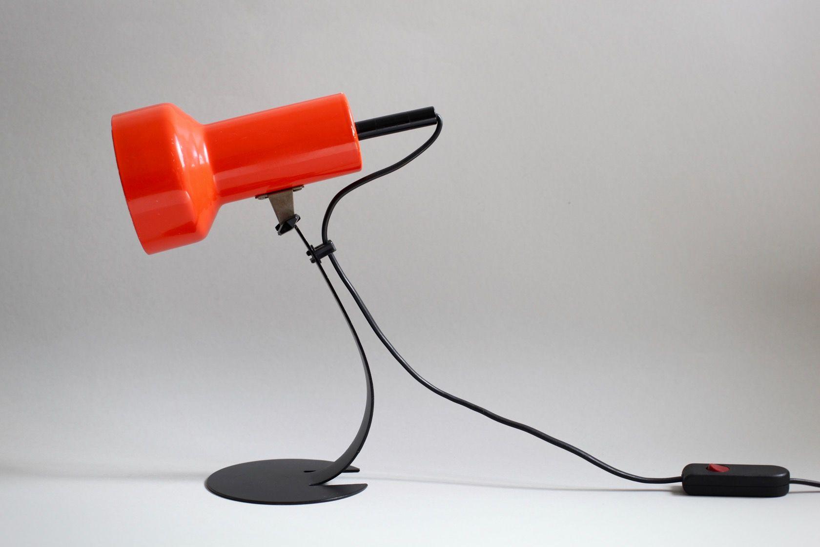 kleine tischlampe 1970er bei pamono kaufen. Black Bedroom Furniture Sets. Home Design Ideas