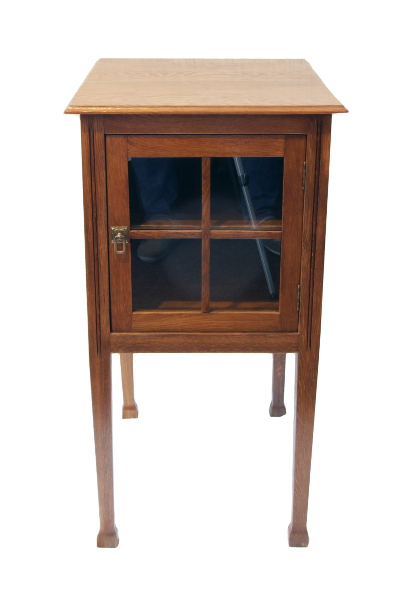 Small Antique Side Cabinet