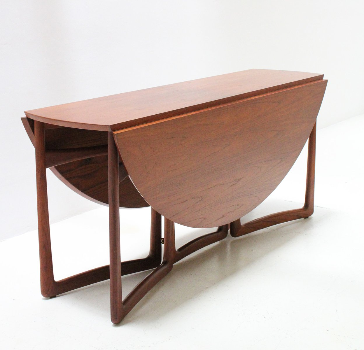 Drop Leaf Dining Table By Hvidt Mølgaard For France Daverkosen
