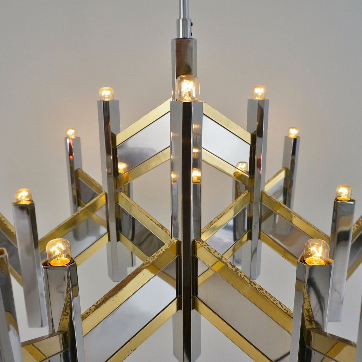 Vintage Chandelier With 15 Lights By Gaetano Sciolari 5 Price 118 00 Regular 479