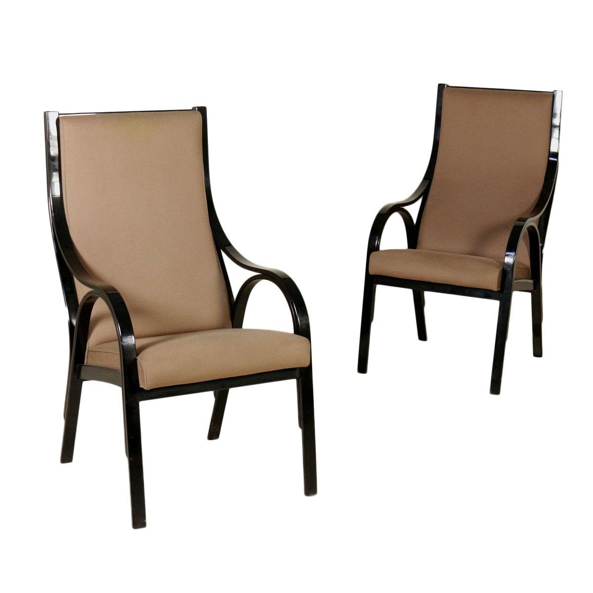 italienische cavour armlehnst hle von stoppino meneghetti. Black Bedroom Furniture Sets. Home Design Ideas